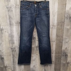 """7 For All Mankind """"Boycut"""" Jeans"""